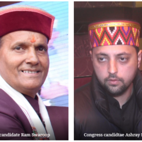 Stage set for contest between Ashray and Ram Swaroop in Mandi