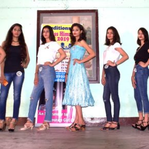 Round to select Miss Himachal at Mandi