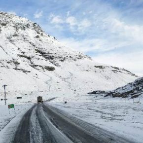 Higher reaches of tribal areas experience snow