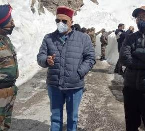 The Rohtang pass opened